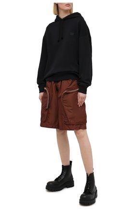 Женские шорты DSQUARED2 коричневого цвета, арт. S75MU0386/S53582 | Фото 2