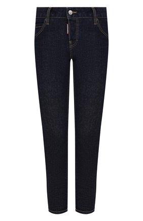 Женские джинсы DSQUARED2 темно-синего цвета, арт. S80LA0018/S30595 | Фото 1