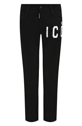 Женские джинсы DSQUARED2 черного цвета, арт. S80LA0020/S30564 | Фото 1