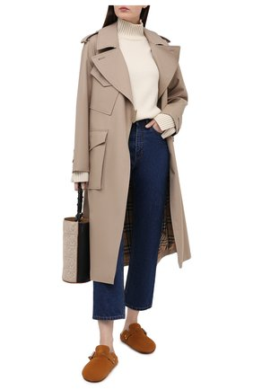 Женский кашемировый свитер LORO PIANA кремвого цвета, арт. FAL5048 | Фото 2