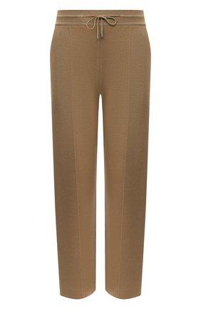 Женские брюки LORO PIANA коричневого цвета, арт. FAL5217 | Фото 1