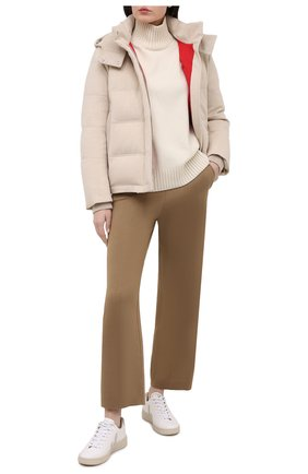 Женские брюки LORO PIANA коричневого цвета, арт. FAL5217 | Фото 2