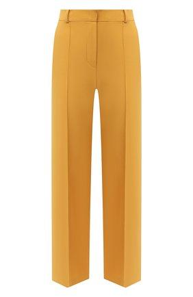 Женские шерстяные брюки LORO PIANA желтого цвета, арт. FAL5626 | Фото 1