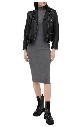 Женское платье ALICE + OLIVIA серого цвета, арт. CL000526703   Фото 2