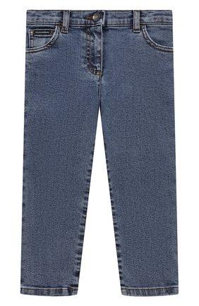 Детские джинсы DOLCE & GABBANA синего цвета, арт. L21F60/LD949 | Фото 1