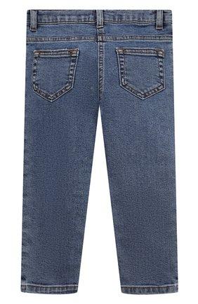 Детские джинсы DOLCE & GABBANA синего цвета, арт. L21F60/LD949 | Фото 2