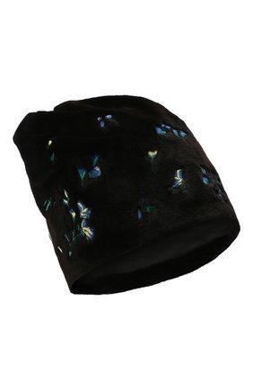 Женская шапка пиноккио из меха норки KUSSENKOVV разноцветного цвета, арт. 51510075254   Фото 1