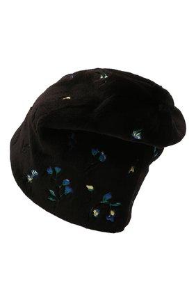 Женская шапка пиноккио из меха норки KUSSENKOVV разноцветного цвета, арт. 51510075254   Фото 2