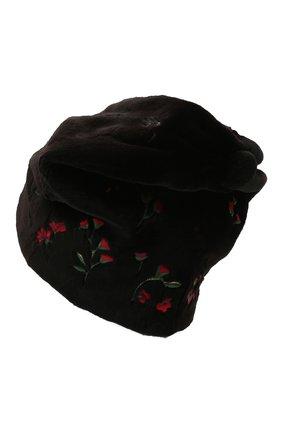 Женская шапка пиноккио из меха норки KUSSENKOVV разноцветного цвета, арт. 51510078254   Фото 2