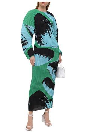 Женское платье SOLACE зеленого цвета, арт. 0S21061 | Фото 2
