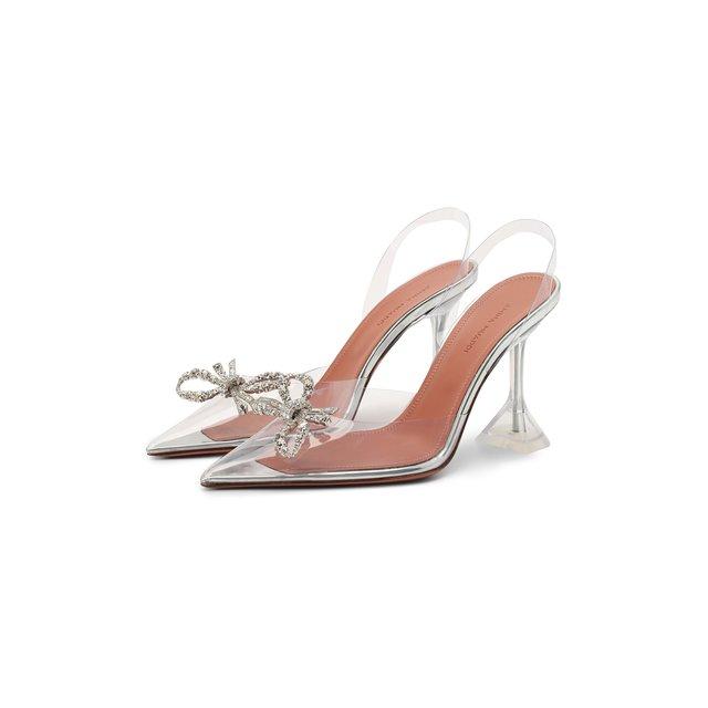 Комбинированные туфли Rosie Amina Muaddi