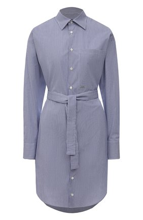 Женское хлопковое платье DSQUARED2 синего цвета, арт. S75CV0406/S53619 | Фото 1