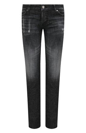 Женские джинсы DSQUARED2 черного цвета, арт. S75LB0432/S30357 | Фото 1