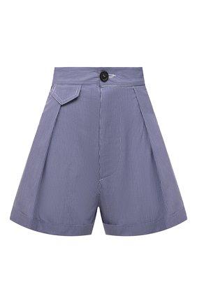 Женские хлопковые шорты DSQUARED2 синего цвета, арт. S75MU0380/S53618 | Фото 1