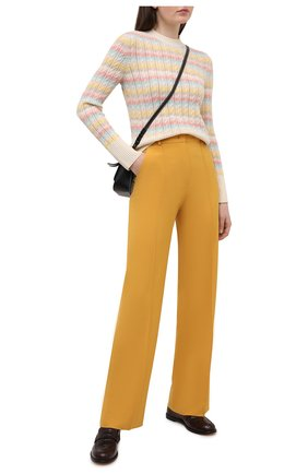 Женский кашемировый пуловер LORO PIANA разноцветного цвета, арт. FAL5039 | Фото 2