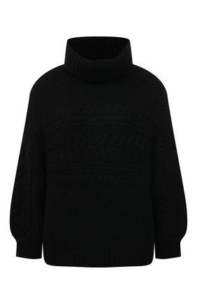 Женский свитер ALICE + OLIVIA черного цвета, арт. CC009S36707 | Фото 1