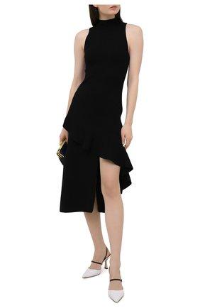 Женское платье ALICE + OLIVIA черного цвета, арт. CC009525715 | Фото 2