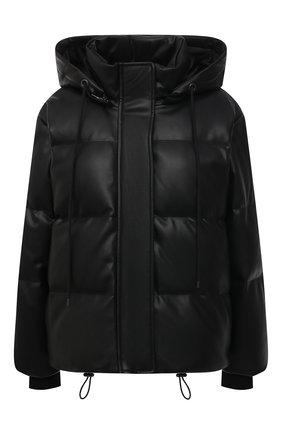 Женский пуховая куртка ALICE + OLIVIA черного цвета, арт. CC009J08407 | Фото 1