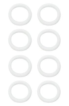 Детского резинка soft basic JUNEFEE белого цвета, арт. 6729   Фото 1