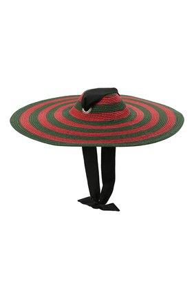 Детская шляпа GUCCI разноцветного цвета, арт. 642868/4HADK | Фото 1