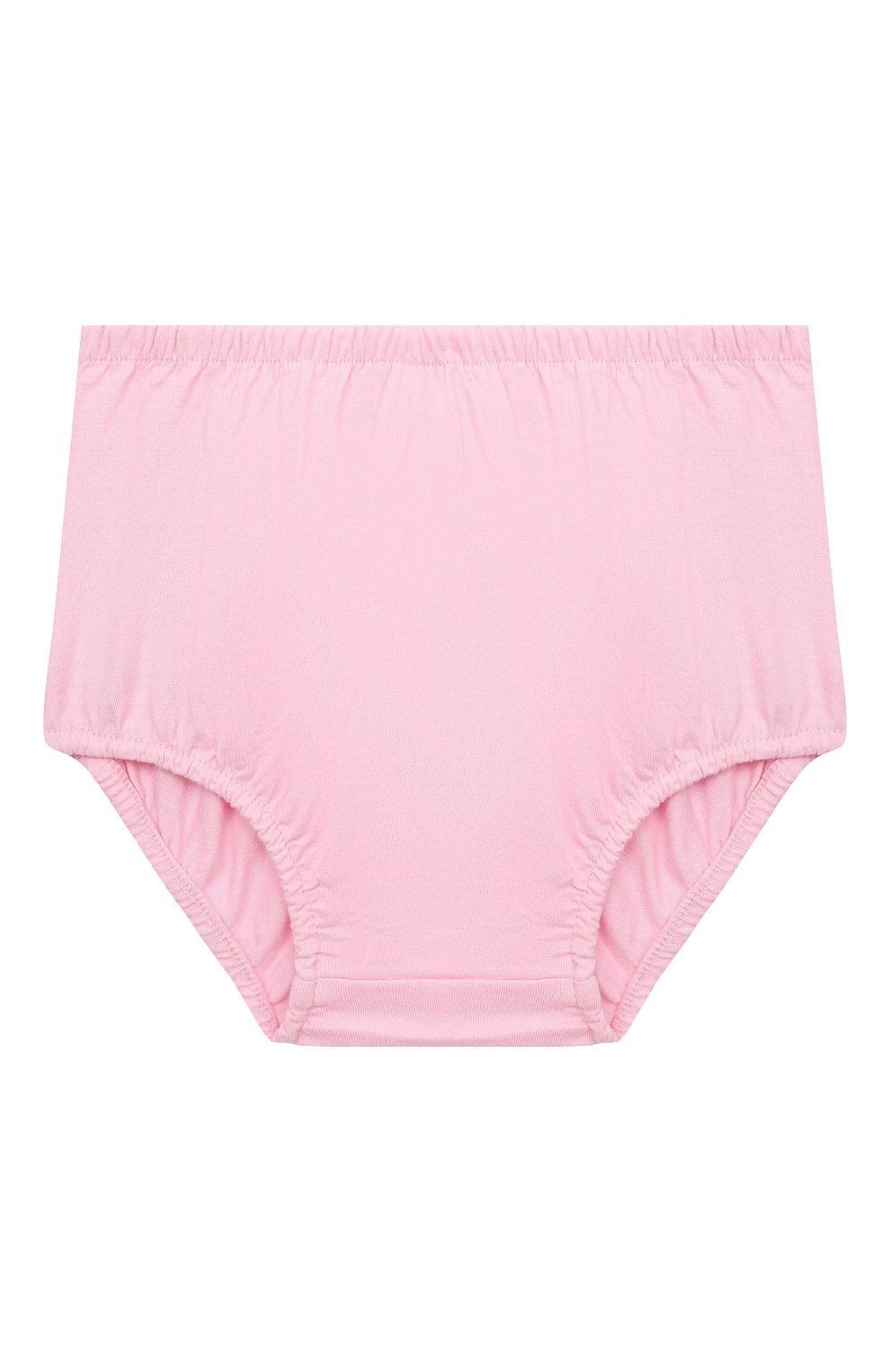 Женский комплект из платья и шорт POLO RALPH LAUREN розового цвета, арт. 310835081 | Фото 5