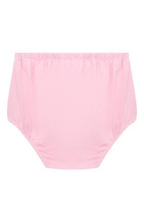 Женский комплект из платья и шорт POLO RALPH LAUREN розового цвета, арт. 310835081 | Фото 6
