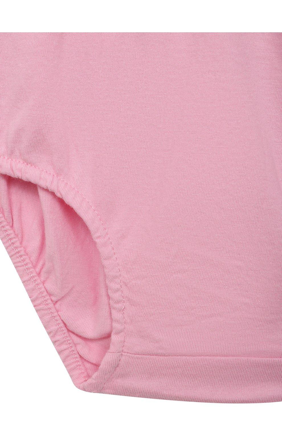 Женский комплект из платья и шорт POLO RALPH LAUREN розового цвета, арт. 310835081 | Фото 7