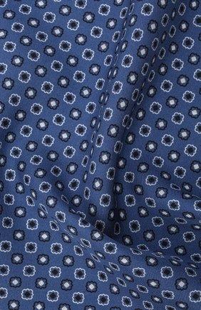 Мужской шелковый платок BRIONI голубого цвета, арт. 071000/P0424 | Фото 2