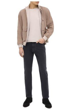 Мужские джинсы ERMENEGILDO ZEGNA серого цвета, арт. UWI88/GAN | Фото 2