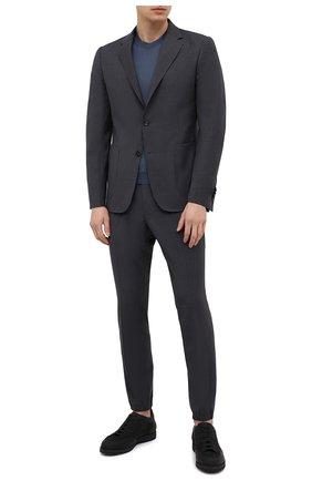 Мужской шерстяной костюм Z ZEGNA темно-серого цвета, арт. 924730/2X7YGW   Фото 1