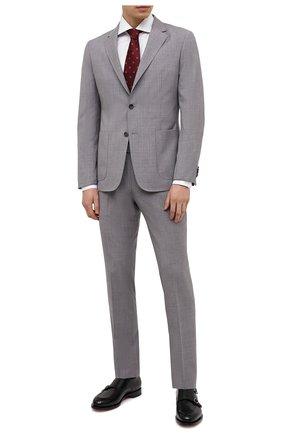 Мужской шерстяной костюм Z ZEGNA светло-серого цвета, арт. 922882/2X7YGX | Фото 1