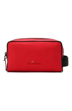 Мужской текстильный несессер KITON красного цвета, арт. UBCASEN00821 | Фото 1
