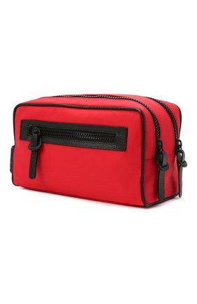 Мужской текстильный несессер KITON красного цвета, арт. UBCASEN00821 | Фото 2