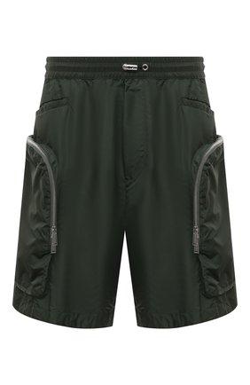 Мужские шорты DSQUARED2 темно-зеленого цвета, арт. S74MU0631/S53582 | Фото 1