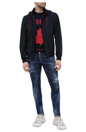 Мужские джинсы DSQUARED2 темно-синего цвета, арт. S74LB0836/S30342   Фото 2