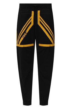 Мужские хлопковые джоггеры DSQUARED2 черного цвета, арт. S74KB0501/S53578 | Фото 1 (Силуэт М (брюки): Джоггеры; Длина (брюки, джинсы): Укороченные; Материал внешний: Хлопок; Стили: Спорт-шик)