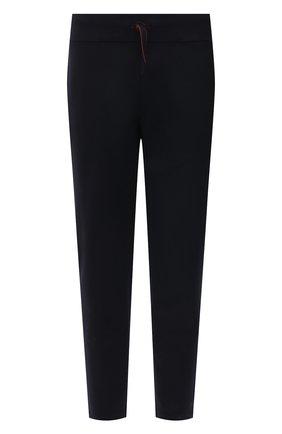 Мужские шерстяные брюки LORO PIANA темно-синего цвета, арт. FAL5983 | Фото 1