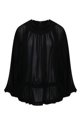 Женская блузка COMME DES GARCONS черного цвета, арт. GF-B012-051 | Фото 1