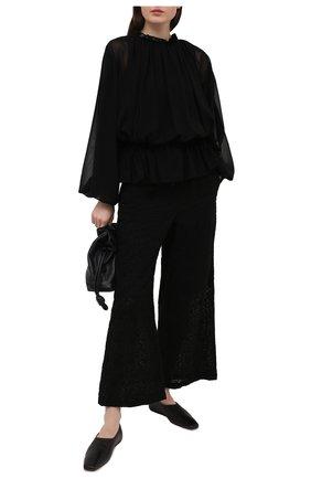 Женская блузка COMME DES GARCONS черного цвета, арт. GF-B012-051 | Фото 2