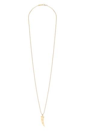 Женская кулон на цепочке ISABEL MARANT кремвого цвета, арт. SA0240-21P012B | Фото 1