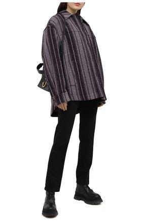 Женские джинсы 3X1 черного цвета, арт. WP0221092/DARK BLACK | Фото 2