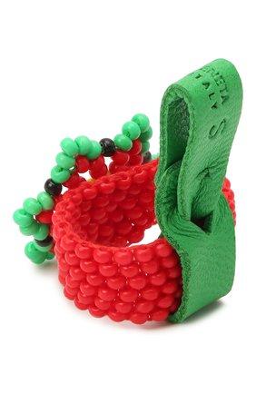 Женское кольцо BOTTEGA VENETA красного цвета, арт. 651121/V9995 | Фото 2