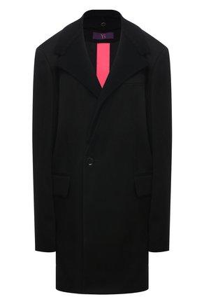 Женский шерстяной жакет Y`S черного цвета, арт. YT-J40-130   Фото 1