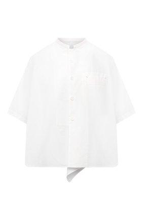 Женская хлопковая рубашка Y`S белого цвета, арт. YT-B03-030   Фото 1