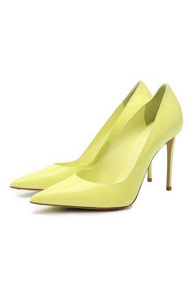 Женские кожаные туфли deco eva 100 LE SILLA желтого цвета, арт. 2101M090R1PPKAB | Фото 1