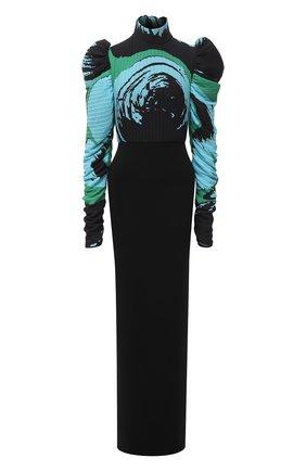 Женское платье SOLACE зеленого цвета, арт. 0S29006A | Фото 1