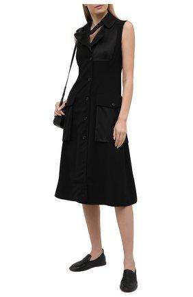 Женские кожаные лоферы MARSELL черного цвета, арт. MW4285/PELLE CERV0 | Фото 2