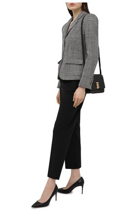 Женские кожаные туфли kate 85 CHRISTIAN LOUBOUTIN черного цвета, арт. 3200650/KATE 85 | Фото 2