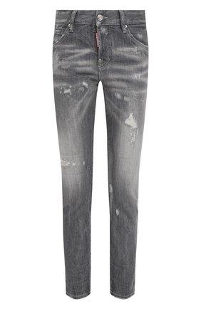 Женские джинсы DSQUARED2 серого цвета, арт. S75LB0445/S30260 | Фото 1
