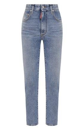 Женские джинсы DSQUARED2 голубого цвета, арт. S75LB0470/S30595 | Фото 1